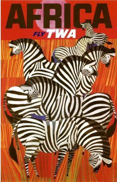 Rad 1960s travel posters