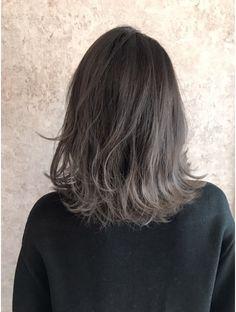 ワールドオーダー 京都駅前店(WORLD ORDER)アッシュ グラデーションカラー Medium Hair Cuts, Medium Hair Styles, Short Hair Styles, Hair Color 2017, Cabello Hair, Hair Color Auburn, Hair Reference, Grunge Hair, Great Hair
