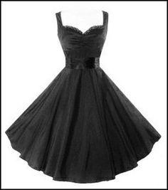 Bettie Page Mad Men Style 50s Pin Up Rockabilly Black Lace Trim Swing Dress   eBay