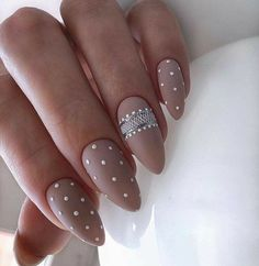 30 Popular Nail Designs Ideas in 2019 Popular Nail Designs, Cute Nail Designs, Acrylic Nail Designs, Acrylic Nails, Beautiful Nail Art, Gorgeous Nails, Pretty Nails, Almond Nails Designs, Nail Designs Pictures