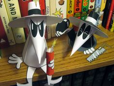 Spy Vs. Spy fan art by Matthew Hawkins, via Behance