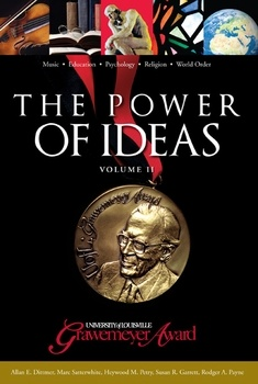 The Power of Ideas, Volume II: The University of Louisville Grawemeyer Awards. Edited by Allen E. Dittmer. The Grawemeyer Awards pay homage to creativity and genius in areas of human endeavor too much ignored by other awards: in Music, Political Science, Education, Religion and Psychology. This book picks up where the first volume left off, in 1997, and showcases the last 10 years of profound innovations. Hardcover, 262 pages. http://www.butlerbooks.com/poofidvoii.html