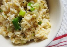 Leftover rice? think breakfast.  scrambled eggs with rice recipe