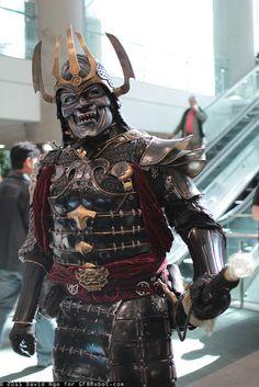 Samurai by DTJAAAAM, via Flickr