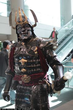 Samurai by DTJAAAAM, via Flickr