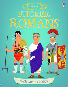#stickers #activities #Romans #history #childrensbooks #usborne