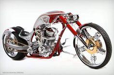 Skil Saw Anniversary Edition Chopper Motorcycle, Motorcycle Garage, Motorcycle Art, Motorcycle Design, Custom Choppers, Custom Motorcycles, Custom Bikes, Paul Teutul, Orange County Choppers