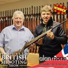 British Shooting Show- Schultz and Larsen Rifle competition winner revealed... Full article in Shooting News. Fieldandrurallife.com #AlanRhone #Schultz #Larsen #competition #sport #game #rifle #scopes #moderator #shooting #shoot #classicrifle #britishshootingshow #shootingshow #BSS