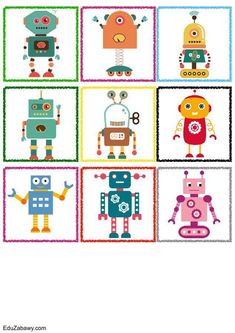 Znaczki przedszkolne – Roboty Advent Calendar, Crafts For Kids, Kids Rugs, Education, Holiday Decor, Activities, Funny Drawings, Therapy, Games