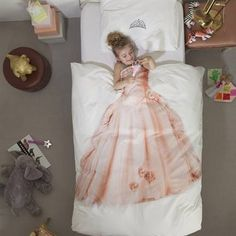 Snurk Princess dekbedovertrek #lief #inspiratie #meisjeskamer