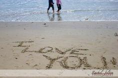 Romance and love at the beach in Santa Monica