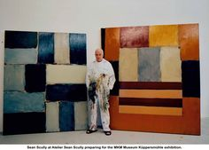 Sean Scully, Irish artist, cannot describe how much I admire his work.