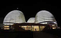 2012 eröffnet: Das Galaxy Soho Gebäude von Zaha Hadid in Beijing. Zum Nachruf: http://www.nachrichten.at/nachrichten/kultur/Stararchitektin-Zaha-Hadid-gestorben;art16,2192902 (Bild: Reuters)