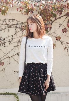 Dundee Skirt | Korean Fashion