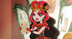 Ever After High Screencaps : Photo Lizzie Hearts, Queen Of Hearts, Ever After High Videos, Goth Princess, Disney Princess, Best Profile, Heart Gif, Disney Phone Wallpaper, Alice