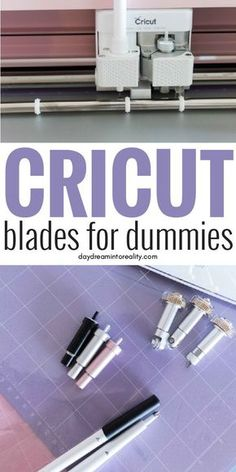 Let me help you avoid the headache of learning and figuring out what you need to know about the Cricut blades. If you want to learn the differences, types, care and everything about the Cricut Blades you are in the right place!