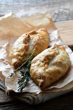 Herbed Beef Pasties with Carrot and Parsnip Recipe - a fun take on classic British food for the start of Downton Abbey Season 5 on Sunday! food and drink Carrot And Parsnip Recipe, Parsnip Recipes, Beef Recipes, Cooking Recipes, Fancy Recipes, Jackfruit Recipes, Recipies, Seafood Recipes, Simply Yummy