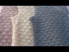 YouTube Bargello, Crochet Stitches, Crochet Top, Lace, Women, Friends, Videos, Youtube, Fashion