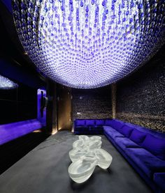 "If we create a number of intimate spaces (10 - 20 - 30 people) then we could design one of them in a ""higher-tech-aisan-vibe W Guangzhou Hotel"