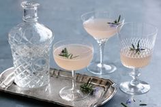 This pretty pink cocktail is the perfect party drink.