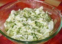 Pekinské zelí s okurkou Lettuce, Pesto, Grains, Vegetables, Food, Veggies, Veggie Food, Meals, Vegetable Recipes