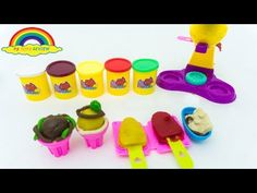 Let's make ice Cream with Jai Pei Le Ice Cream Set Learning the color . Ice Cream Set, Make Ice Cream, Color Names, Let It Be, Learning, Toys, How To Make, Activity Toys, Studying