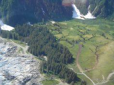 Float plane trip over Alaska Alaska Destinations, Float Plane, Roads, Bucket, River, Mountains, World, Awesome, Places