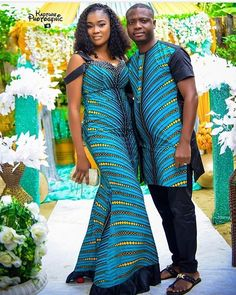 Latest African Wear For The Couple For Couples. Latest Shweshwe dress patterns for 2019 African Fashion Dresses, African Inspired Fashion, . African Wear, African Attire, African Women, African Dress, African Clothes, African Beauty, African Style, African Print Fashion, Africa Fashion