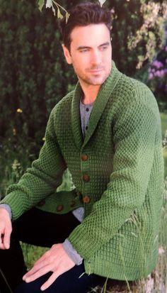 Cardigan con Cuello Smoking para Hombres Elegantes Crochet Cardigan, Types Of Sleeves, Knitwear, Men Sweater, V Neck, Mens Fashion, Pullover, Knitting, Shirts