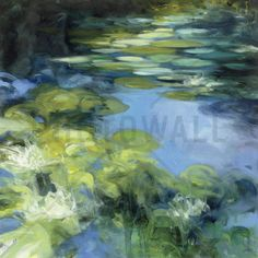 Water Lilies II - Tapetit / tapetti - Photowall