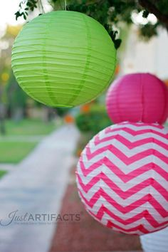 Bright Paper Lanterns