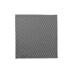 Brown Print: Cloth Napkins: Set of 4