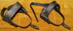 Jesse James' spurs   by Official Photos of Clay County, Missouri