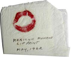Marilyn Monroe - A kiss on the hand.....