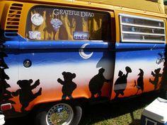 VW Greatful Dead Bus....I like it.