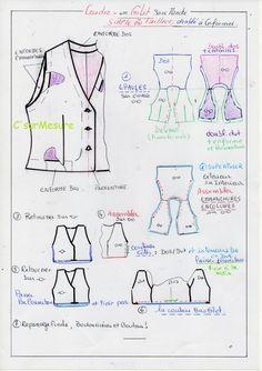 eb3da24b4253 385 meilleures images du tableau couture, technique et conseils ...