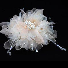 Donne Chiffon Copricapo-Matrimonio / Occasioni speciali / All'aperto Copricapo / Fiori / Cappelli 1 pezzo del 3084788 2016 a €9.79