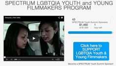 Pin by Kin Folkz on SPECTRUM LGBTQA YOUTH and YOUNG FILMMAKERS PROGRA…