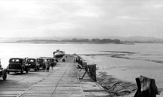 Aust Ferry or Beachley Ferry was a ferry service that operated across the River Severn between Aust and Beachley both in Gloucestershire, England. Severn Bridge, River Severn, Bristol Channel, Bristol Uk, Cymru, Northern Ireland, Historical Photos, Avon, Wales