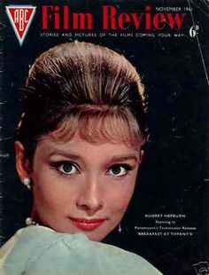 "Audrey Hepburn on the cover of ""ABC Flm Review"", United KIngdom, November 1961."
