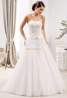 A-linie Prinzessin Brautkleider aus Softnetz