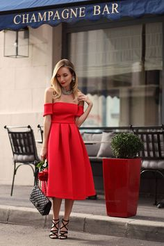 40+ Outfits You Must Try. Red Midi ... 8caff4a077b