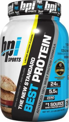 BPI Sports Best Protein Snickerdoodle 2 Lbs. BPI4460021 Snickerdoodle - Designed To Support Lean Muscle Growth And Rapid Recovery*