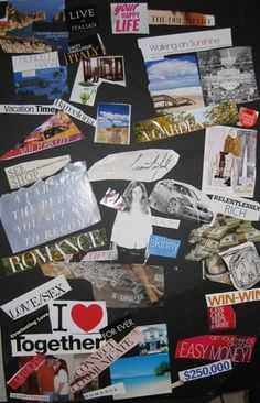 A Dreams Come True Vision Board #DIY #visionboard #dreamboard #dreamoutloud #dreambig True Vision, Creating A Vision Board, My Dream Came True, Ministry Ideas, Women's Ministry, Try Something New, Love And Light, Law Of Attraction, Dream Big
