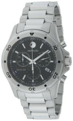 Relógio Movado Men's 2600076 Series 800 Performance Steel Bracelet Watch #Relogio #Movado