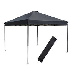 Cheap instant canopy, Buy Quality patio canopy directly from China canopy Suppliers: Abba Patio ft Outdoor Pop Up Portable Shade Instant Folding Canopy with Roller Bag Dark Grey Pop Up Shade Tent, Pop Up Canopy Tent, Patio Canopy, Canopy Outdoor, Camping Canopy, Kids Canopy, Folding Canopy, Portable Shade, Instant Canopy