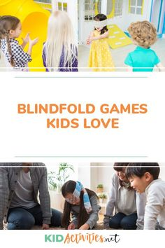 Find a collection of 15 fun blindfold games for kids. Blindfold games can be fun activities for birthday parties, classroom fun, or events where kids gather Fun Games For Kids, Indoor Activities For Kids, Games For Toddlers, Fun Activities, Summer Party Games, Church Games, School Games, Classroom Fun