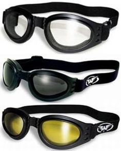 cae55e16fa Goggles for Burning Man  3 Burning Man Motorcycle Goggles That Fold for  Easy Storage Clear