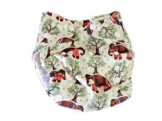 Pocket Cloth Diaper With Double Gussets - Indian Elephants from $4.00. This is on my wish list, I have the matching wet bag