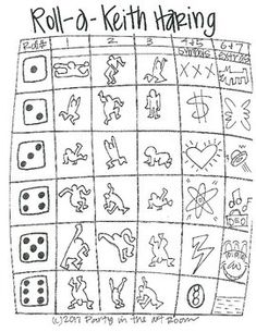 Roll-A-Masterpiece-Keith-Haring-Art-History-Game-2083021